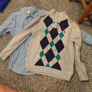 Boys 2 pc. Sweater Set